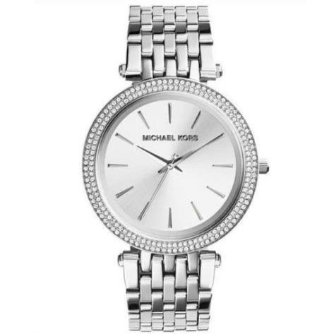 Michael Kors MK3190 Ladies Darci Silver Crystal Watch