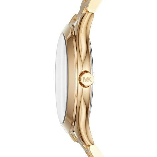 Michael Kors MK3512 Ladies Slim Runway Gold Watch