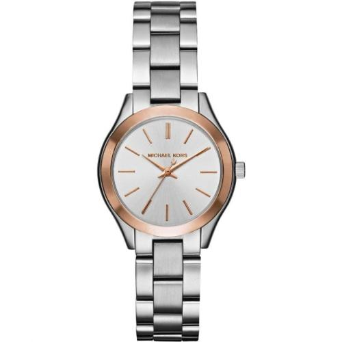 Michael Kors MK3514 Ladies Slim Runway Two-tone Watch
