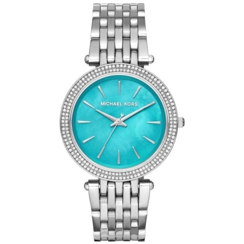 Michael Kors MK3515 Ladies Darci Capri Chic Mother-of-Pearl Dial Stainless Steel Crystal Watch