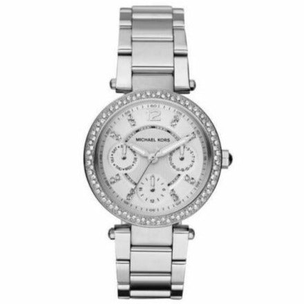 Michael Kors MK5615 Ladies Mini Parker Stainless Steel Chronograph Watch