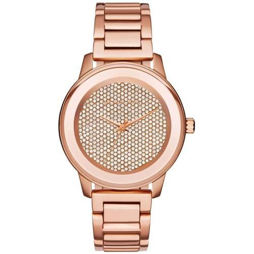 Michael Kors MK6210 Ladies Kinley Rose Gold Crystal Watch