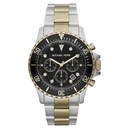 Michael Kors MK8311 Men's Everest Chronograph Two-tone/Black Watch