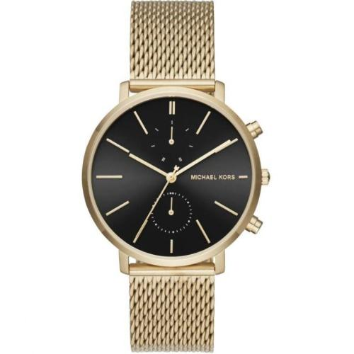 Michael Kors MK8503 Men's Jaryn Gold & Black Mesh Chronograph Watch