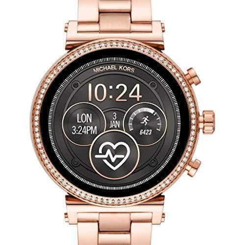 Michael Kors MKT5063  Ladies Rose Gold Touch Screen OS Smart Watch