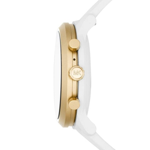 Michael Kors MKT5071 Ladies White/Gold MKGO Touch Screen OS Smart Watch
