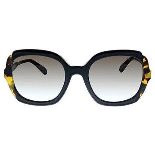 PRADA 0PR16US Ladies Heritage Havana Black/Brown with Grey Gradient Sunglasses - Sunglasses