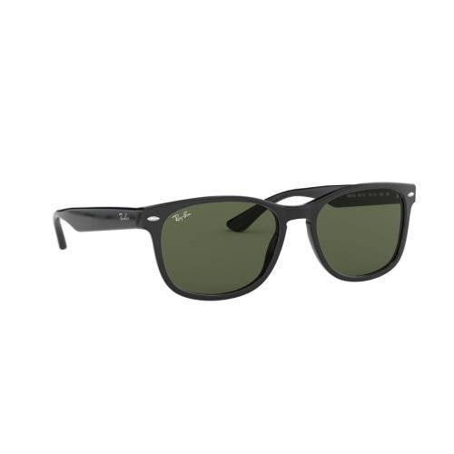 RayBan RB2184 Classic Wayfarer G-15 Black/Green Sunglasses - Sunglasses