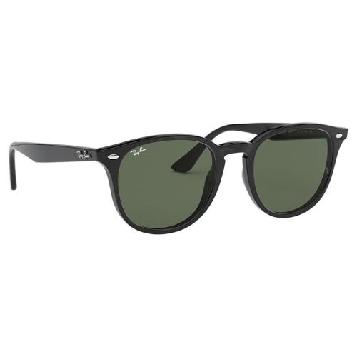 RayBan RB4259 Classic Phantos Black/Green Suungasses - Sunglasses