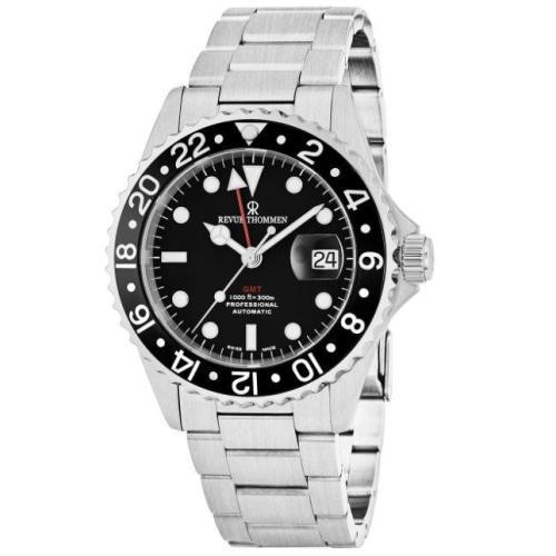 Revue Thommen 17572.2137 Mens Diver Black Dial Automatic Swiss Watch