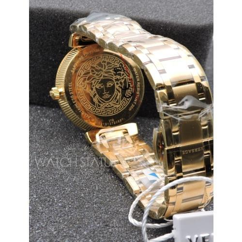 Versace V1607/0017 Ladies Daphnis Gold Mother of Pearl Swiss Watch