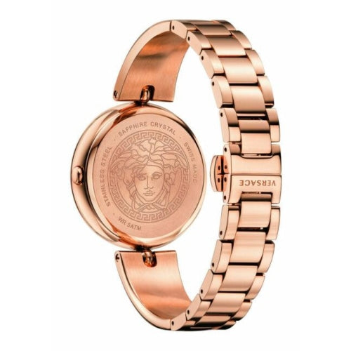 Versace VCO11 0017  Ladies Palazzo Empire Rose Gold Stainless Swiss Watch