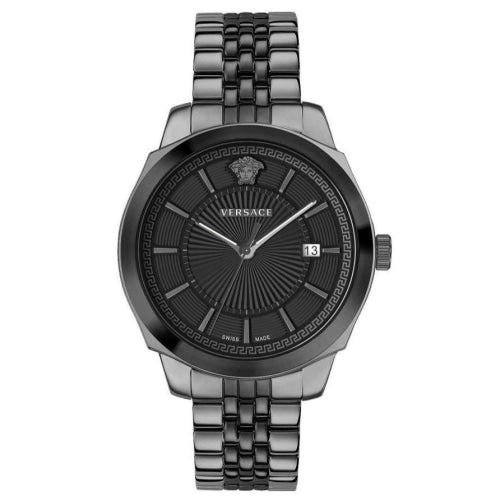 Versace VEV9005 19 Mens Icon Classic Black Stainless Swiss Watch