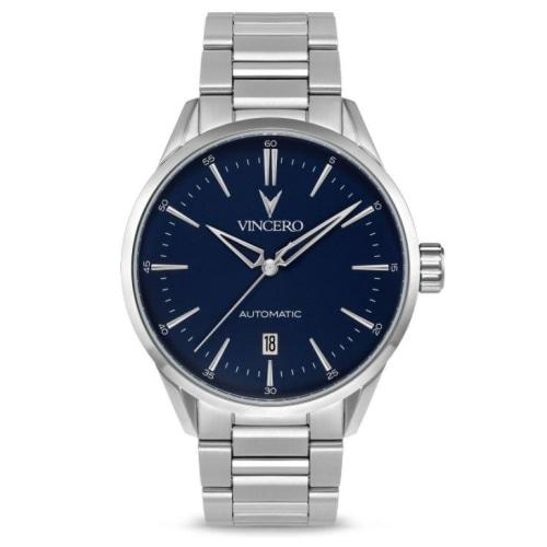 Icon Automatic Silver Stainless Steel Blue Dial Watch