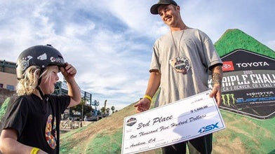 Pat and Kevin Soar at Toyota BMX Triple Challenge