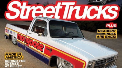 Rad Mongoose Lowrider Scores Cover of Street Trucks Magazine