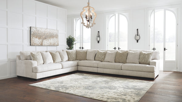 Rawcliffe Signature Design by Ashley 4-Piece Sectional