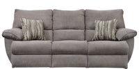 Sadler Lay Flat Reclining Sofa w/DDT