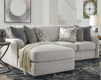 Dellara Benchcraft 2-Piece Sectional with Chaise