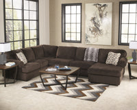 Jessa Place Signature Design by Ashley 3-Piece Sectional with Chaise