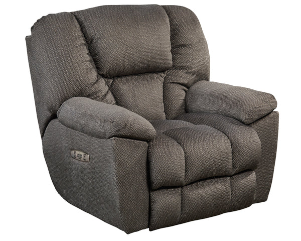 Owens Power Headrest w/Lumbar Power Lay Flat Recliner