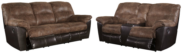 Follett Signature Design Contemporary 2-Piece Living Room Set
