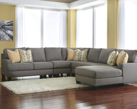 Chamberly Signature Design by Ashley 4-Piece Sectional with Chaise
