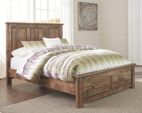 Blaneville Signature Design by Ashley Bed with 2 Storage Drawers