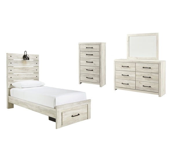 Cambeck Signature Design 6-Piece Youth Bedroom Set with Storage Drawer