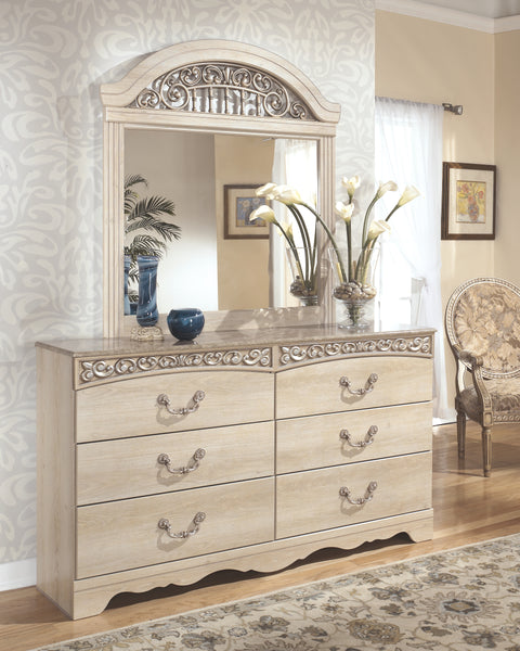 Catalina Signature Design by Ashley Dresser and Mirror