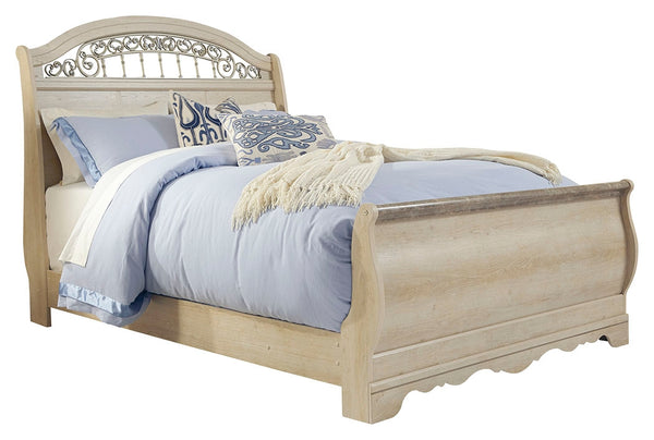 Catalina Sleigh Bed Signature Design 5-Piece Bedroom Set