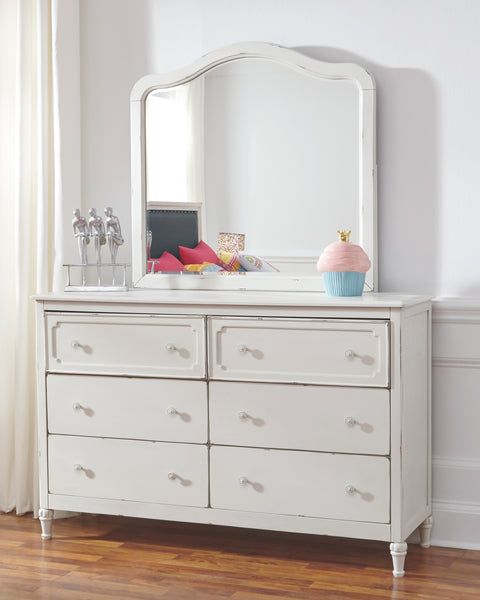 Faelene Signature Design by Ashley Dresser and Mirror