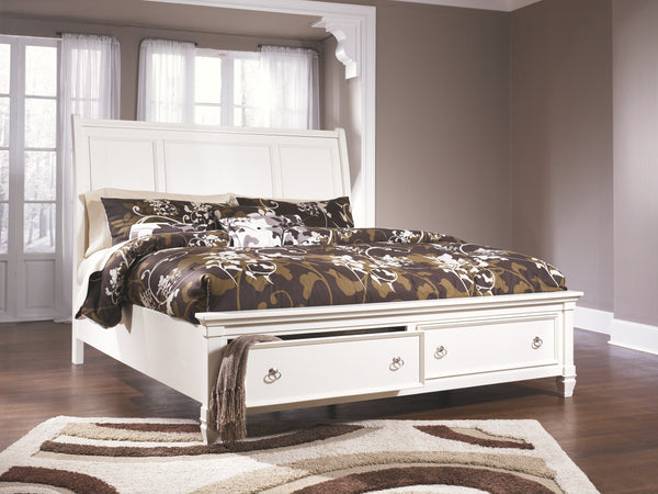 Prentice Millennium by Ashley Bed with 2 Storage Drawers