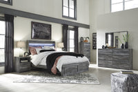 Baystorm Signature Design 5-Piece Bedroom Set with 2 Storage Drawers