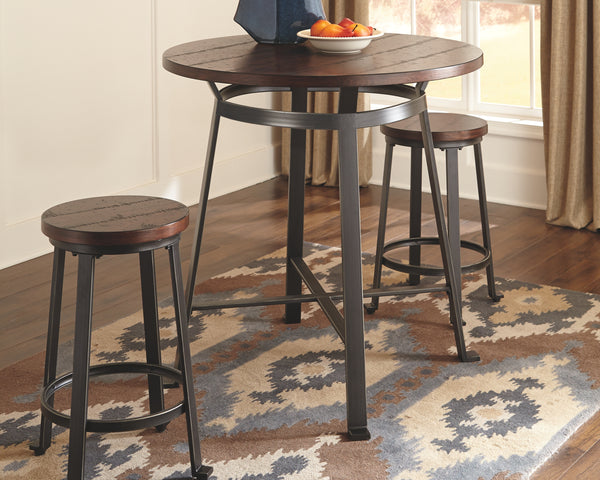 Challiman Signature Design by Ashley Counter Height Table