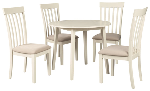Slannery Signature Design 5-Piece Dining Room Set