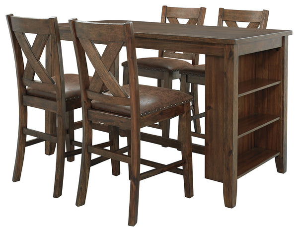 Chaleny Benchcraft 5-Piece Dining Room Set