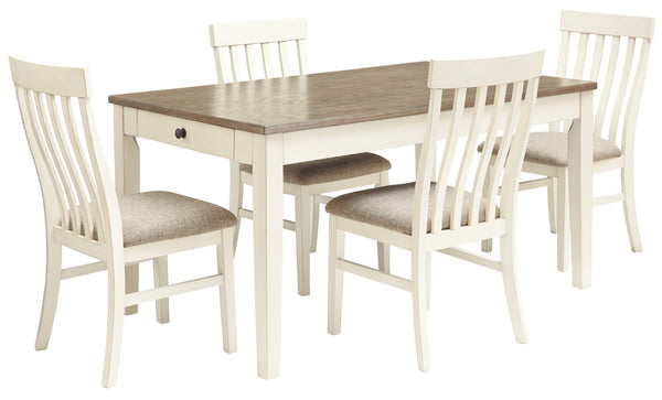 Bardilyn Benchcraft 5-Piece Dining Room Set
