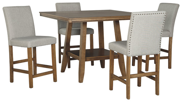 Glennox Signature Design 5-Piece Dining Room Set