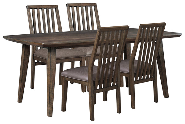 Kisper Signature Design 5-Piece Dining Room Set