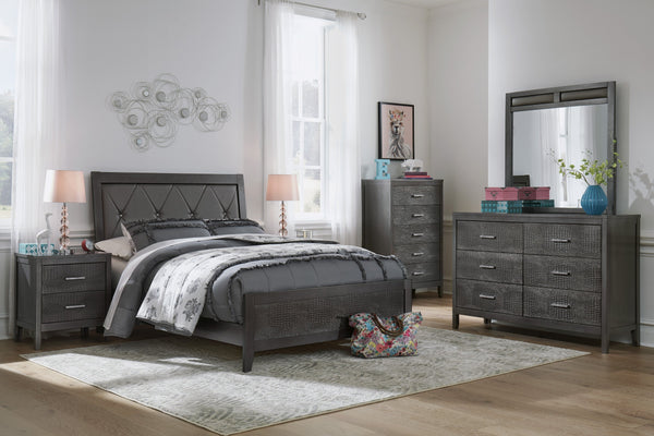 Delmar Benchcraft 5-Piece Bedroom Set