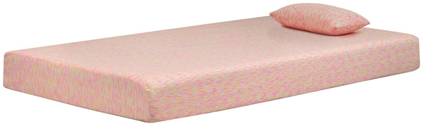 iKidz Pink Sierra Sleep by Ashley Mattress