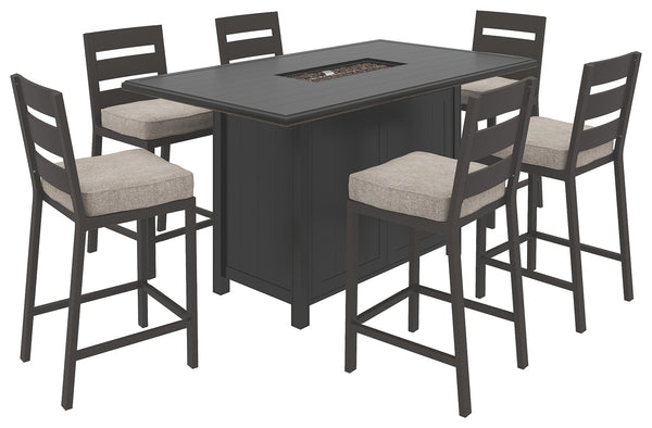 Perrymount Signature Design 7-Piece Outdoor Dining Set