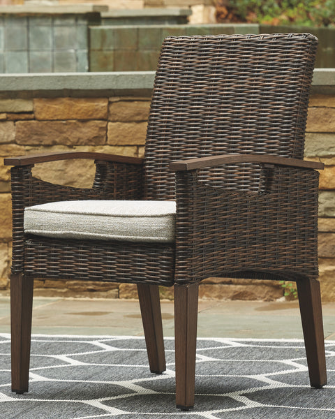 Paradise Trail Signature Design by Ashley Outdoor Dining Chair Set of 2