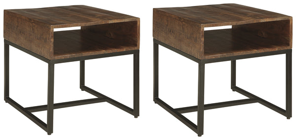 Hirvanton Signature Design 2-Piece End Table Set