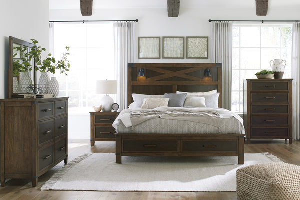 Wyattfield Benchcraft 5-Piece Bedroom Set