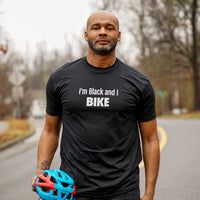 I'm Black and I Bike T-shirt