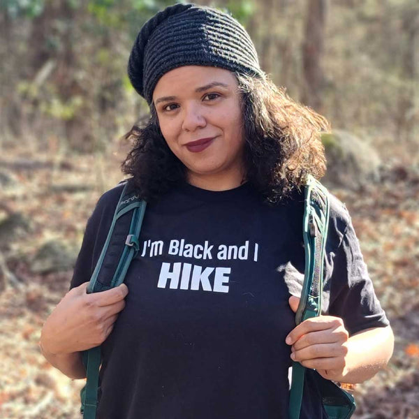 I'm Black and I Hike T-shirt