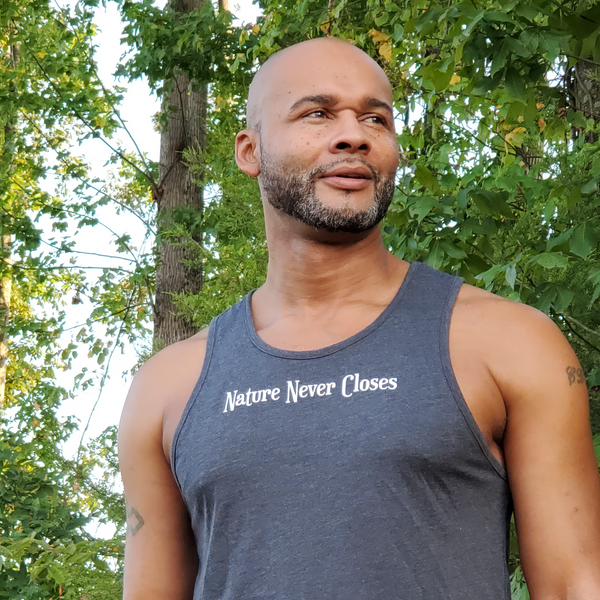Nature Never Closes Men's Tank