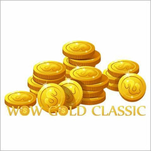 800 GOLD WOW CLASSIC ENGLISH SERVERS
